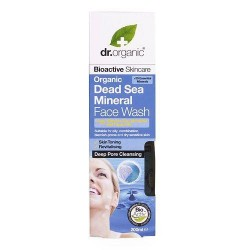 Organic Dead Sea Minerals - Face Wash