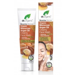 Organic Argan Oil Creamy Face Wash