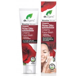 Organic Rose Otto Creamy Face Wash